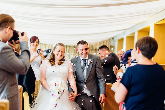 The Wedding of Simon Elwell & Joanne Dean at Rookley Country Park, Isle of Wight, on the 11th May 2015.