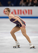 23rd March 2018, Milan, Italy; ISU World Figure Skating Championships  Milano 2018; Womens solo final shows Carolina Kostner