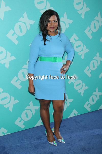 NEW YORK, NY - MAY 13: Mindy Kaling at the FOX 2103 Programming Presentation Post-Party at Wollman Rink in Central Park on May 13, 2013 in New York City. ..Credit: MediaPunch/face to face..- Germany, Austria, Switzerland, Eastern Europe, Australia, UK, USA, Taiwan, Singapore, China, Malaysia, Thailand, Sweden, Estonia, Latvia and Lithuania rights only -