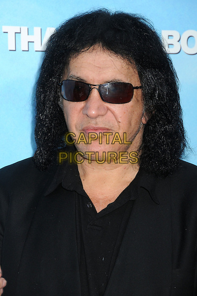 "Gene Simmons.""That's My Boy"" Los Angeles Premiere held at the Regency Village Theatre, Westwood, California, USA..June 4th, 2012.headshot portrait black sunglasses shades .CAP/ADM/BP.©Byron Purvis/AdMedia/Capital Pictures."