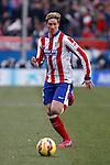 Atletico de Madrid´s Fernando Torres during 2014-15 La Liga match between Atletico de Madrid and Real Madrid at Vicente Calderon stadium in Madrid, Spain. February 07, 2015. (ALTERPHOTOS/Victor Blanco)