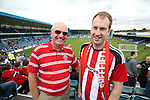 Sheffield United's fans during the League One match at the Priestfield Stadium, Gillingham. Picture date: September 4th, 2016. Pic David Klein/Sportimage