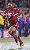 22nd March 2018, Select Security Stadium, Widnes, England; Betfred Super League rugby, Widness Vikings versus Salford Red Devils; Weller Hauraki running with the ball
