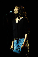 August 1994 File photo, <br /> French singer Jane Birkin at Montreal's Francofolies 1994<br /> Photo :  Images Distribution