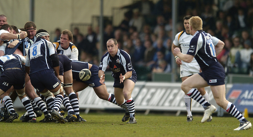 Photo: Jonathan Butler..Bristol Rugby v Worcester Rugby. Guinness Premiership. 07/04/2007..Shaun Perry of Bristol.