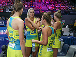 29/10/17 Fast5 2017<br /> Fast 5 Netball World Series<br /> Hisense Arena Melbourne<br /> Australia v South Africa <br /> Gretal Tippett<br /> <br /> <br /> <br /> <br /> <br /> Photo: Grant Treeby