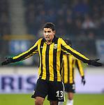 Nederland, Heerenveen, 22 december  2012.Eredivisie.Seizoen 2012/2013.Heerenveen-Vitesse 2-1.Jonathan Reis van Vitesse baalt na de 2-1 nederlaag tegen Heerenveen