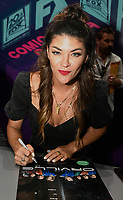 FOX FAN FAIR AT SAN DIEGO COMIC-CON© 2019: THE ORVILLE Cast Member Jessica Szohr during THE ORVILLE booth signing on Saturday, July 20 at the FOX FAN FAIR AT SAN DIEGO COMIC-CON© 2019. CR: Alan Hess/FOX © 2019 FOX MEDIA LLC