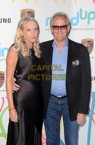 BEVERLY HILLS, CA - NOVEMBER 03: Parky Fonda, Peter Fonda at Goldie's Love In For Kids at Ron Burkle's Green Acres Estate on November 3, 2017 in Beverly Hills, California. <br /> CAP/MPI/DE<br /> &copy;DE/MPI/Capital Pictures