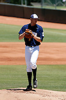 Andre Lamontagne of Oral Roberts playing against Kent State in the Tempe Regionals at Packard Stadium, Tempe, AZ - 05/31/2009.Photo by:  Bill Mitchell/Four Seam Images