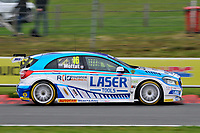 2019 British Touring Car Championship. Round 1. #16 Aiden Moffat. Laser Tools Racing. Mercedes Benz A-Class