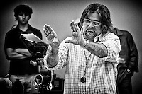 """Director of Photography James Chressanthis on the set of TNT's """"Hide"""" in New Orleans, LA."""