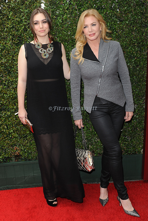 Sophie Simmons and Shannon Tweed attends the John Varvatos 11th Annual Stuart House Benefit held in West Hollywood CA. April 13, 2014.