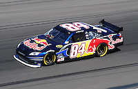 Feb 29, 2008; Las Vegas, NV, USA; NASCAR Sprint Cup Series driver A.J. Allmendinger during practice for the UAW Dodge 400 at Las Vegas Motor Speedway. Mandatory Credit: Mark J. Rebilas-