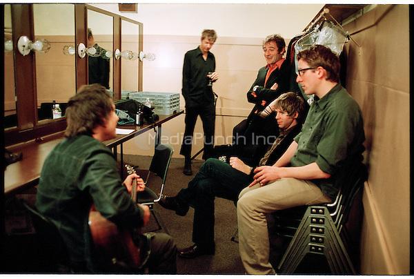 Wilco photographed in San Francisco, CA November 4, 2004 ©Jay Blakesberg /MediaPunch