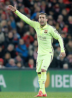 FC Barcelona's Jordi Alba during La Liga match.February 8,2015. (ALTERPHOTOS/Acero) /NORTEphoto.com