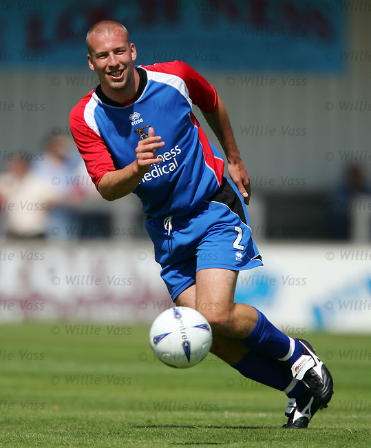 Ross Tokely, Inverness Caley Thistle.stock season 2004-2005.pic willie vass