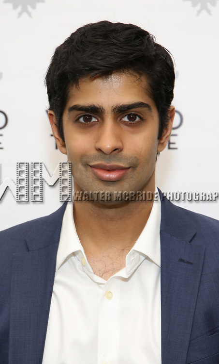 Eshan Bay attends the photo call for The Vineyard Theatre production of 'Can You Forgive Her' at the New 42nd Street Studios on April 3, 2017 in New York City.