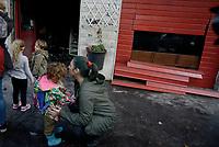 Centocelle, incendiato il Baraka Bistrot