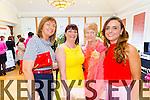Pictured at the Gather by the Feale Womens Pampering Event 2015 on Sunday, Martina Keane Stryker, Kncknasgoshel, Sheila O'Sullivan, Brosna, Bridie Collins, Abbeyfeale, Tasha O'Connor, Templeglantine.