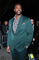 NEW YORK, NY February 12, 2018: Winston Duke attend  Marvel Studios Black Panther Welcome To Wakanda New York Fashion Week Showcase at   Industria Studios in New York. February 12, 2018. Credit:RW/MediaPunch