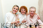 Bridget O'Sullivan celebrating a birthday with family at Bella Bia's on Saturday Theresa O'Brien, Mary O'Sullivan and Bridget O'Sullivan