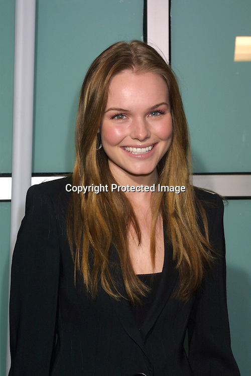 """©2002 KATHY HUTCHINS / HUTCHINS PHOTO.""""Lord of The Rings:  The Two Towers"""" Premiere.Hollywood, CA  .December 15, 2002..KATE BOSWORTH"""