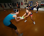 Victory Boxing Gym Woman's Day ,Saturday 3rd May,Evan Barnes / Shuttersport.