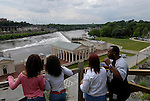 People viewing Waterworks in Fairmount Park..Philadelphia, Pennsylvania, PA USA.  Photo copyright Lee Foster, 510-549-2202, lee@fostertravel.com, www.fostertravel.com. Photo 244-30698