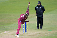Andre Russell (West Indies) in action during South Africa vs West Indies, ICC World Cup Warm-Up Match Cricket at the Bristol County Ground on 26th May 2019