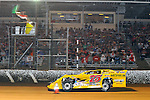 Sep 12, 2010; 12:09:44 AM; Rossburg, OH., USA; The 40th annual running of the World 100 Dirt Late Models racing for the Globe trophy at the Eldora Speedway.  Mandatory Credit: (thesportswire.net)