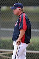 Cleveland Indians Buck Showalter during practice before a Grapefruit League Spring Training game at the Chain of Lakes Complex on March 16, 2007 in Winter Haven, Florida.  (Mike Janes/Four Seam Images)