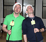 Mark Price & Garth Kravits attending the Rehearsal for the Bucks County Playhouse production of 'It's a Wonderful Life - A Live Radio Play' at their rehearsal studios in New York City on December 5, 2012.