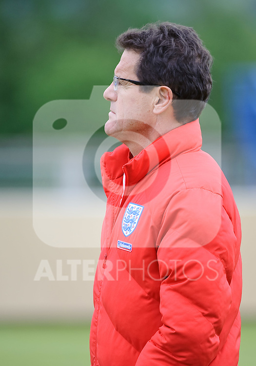 19.05.2010, Arena, Irdning, AUT, FIFA Worldcup Vorbereitung, Training England, im Bild Fabio Capello, Teamchef England, EXPA Pictures © 2010, PhotoCredit: EXPA/ S. Zangrando