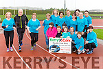 Martina Breen, Jimmy Dennihan and Breda Lynch get in a few laps for the Im running for the Bus in aid of the Kerry Cork Helath Link bus at the launvh in An Riocht Castleisland on Saturday