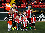 Players Children during the English League One match at  Bramall Lane Stadium, Sheffield. Picture date: April 30th 2017. Pic credit should read: Simon Bellis/Sportimage