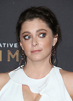 LOS ANGELES, CA - SEPTEMBER 09: Rachel Bloom, at the 2017 Creative Arts Emmy Awards at Microsoft Theater on September 9, 2017 in Los Angeles, California. <br /> CAP/MPIFS<br /> &copy;MPIFS/Capital Pictures