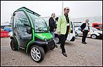 Nederland, Rotterdam, 21-09-2010 Ecomobiel een beurs voor  voor  professionals op het gebied van duurzame mobiliteit. Met auto's die rijden op waterstof,aardgas,bio gas,brandstofcellen,,waterstofcellen en vooral veel elektrische fietsen, scooters , personenauto's, bestelwagens . FOTO: Gerard Til / Hollandse Hoogte