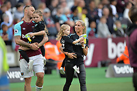 Marko Arnautovic of West Ham and his family during West Ham United vs Everton, Premier League Football at The London Stadium on 13th May 2018