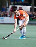 UTRECHT - Glenn Schuurman (Bldaal) tijdens de hockey hoofdklasse competitiewedstrijd heren:  Kampong-Bloemendaal (3-3). COPYRIGHT KOEN SUYK