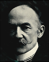 BNPS.co.uk (01202) 558833<br /> Pic: PhilYeomans/BNPS<br /> <br /> Thomas Hardy.<br /> <br /> A historic hotel that provided the inspiration for one of author Thomas Hardy's most famous novels has been saved from financial ruin and is to be restored to its former glory.<br /> <br /> The Kings Arms in Dorchester, Dorset, featured prominently in Hardy's 1886 novel The Mayor of Casterbridge, a tale of a drunken man who sells his wife and daughter and is then reunited with them years later when he is a mayor. <br /> <br /> The central character, Michael Henchard, carried out his official business at the Georgian hotel and Hardy went into great detail in his description of the frontage of the iconic building.<br /> <br /> The Grade II listed former coaching inn was closed last year after the company that owned it went into receivership. It was bought by Stay Original Company, which owns and runs a a number of historic boutique hotels in the west country. <br /> <br /> The firm plan to return and restore plenty of its 18th century original features and show what it was like in Hardy's day.