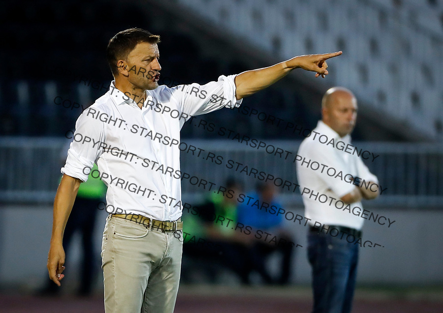 Fudbal Super League Season 2017-2018<br /> Partizan v Macva (Sabac)<br /> head coach Miroslav Djukic (L)<br /> Beograd, 22.07.2017.<br /> foto: Srdjan Stevanovic/Starsportphoto &copy;
