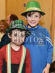 Lucas and Aaron Gorman at the Comhaltas Céilí in Ballsgrove Community Centre. Photo:Colin Bell/pressphotos.ie