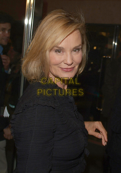 "JESSICA LANGE.""Bonneville"" Premiere during the 2006 Toronto International Film Festival held at Roy Thomson Hall, Toronto, Ontario, Canada..September 11th, 2006.Ref: ADM/BP.half length black top.www.capitalpictures.com.sales@capitalpictures.com.©Brent Perniac/AdMedia/Capital Pictures."