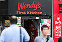Suntory to sell First-Kitchen fast food chain to Wendy's