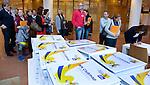 UTRECHT - WK Ambassadeurs bij Hockeycongres bij de Rabobank in Utrecht. FOTO KOEN SUYK