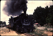 D&amp;RGW #490 in northern New Mexico.<br /> D&amp;RGW  Farmington - Aztec area, NM