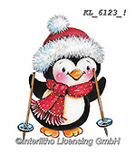 CHRISTMAS ANIMALS, WEIHNACHTEN TIERE, NAVIDAD ANIMALES, paintings+++++,KL6123/1,#xa# ,sticker,stickers