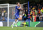 Chelsea's Cesar Azpilicueta celebrates scoring his sides second goal during the Premier League match at Stamford Bridge Stadium, London. Picture date: May 15th, 2017. Pic credit should read: David Klein/Sportimage