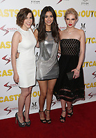 "13 April 2017 - Los Angeles, California - Eden Sher, Victoria Justice, Claudia Lee. Premiere Of Swen Group's ""The Outcasts"" held at the Landmark Regent."